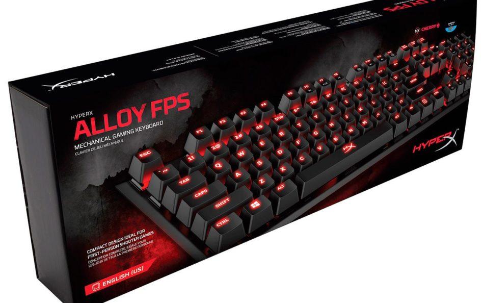 Kingston HyperX Alloy FPS sale al mercado