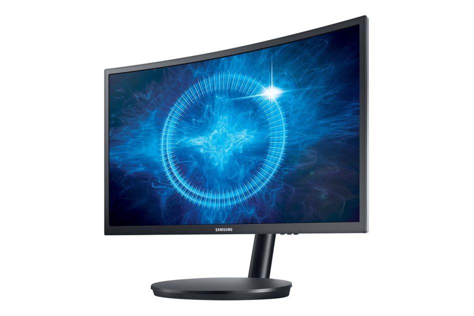 Samsung CFG70 son los primeros monitores curvos con tecnología Quantum Dot