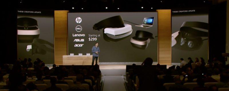 Microsoft presenta su dispositivo de realidad virtual, Win10 VR