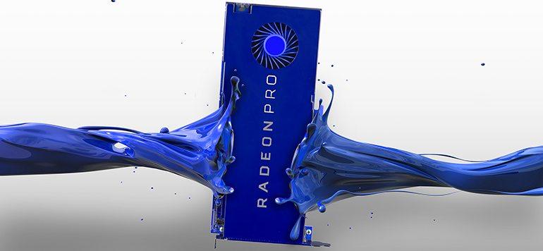 AMD presenta Radeon Pro 400