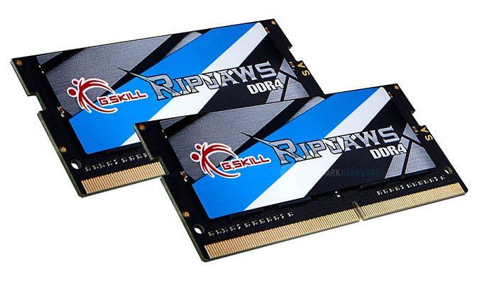 G.SKILL consigue el certificado del CMTL con un kit DDR4 SO-DIMM