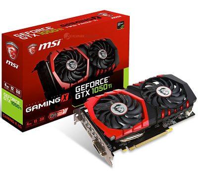 MSI anuncia su gama de modelos para la NVIDIA GTX 1050 Ti y GTX 1050