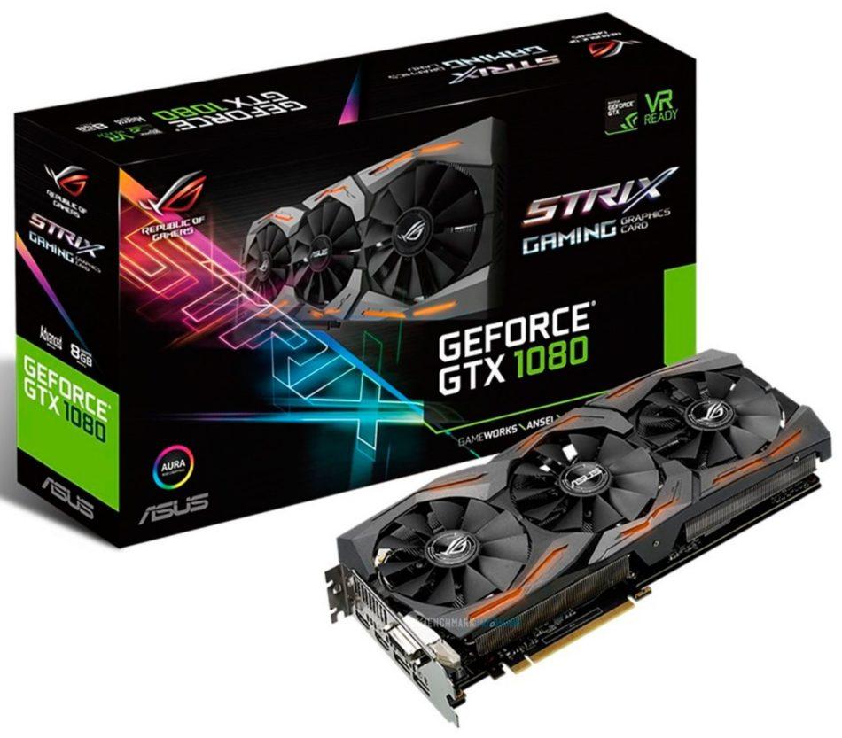 ASUS presenta la nueva GTX 1080 STRIX A8G