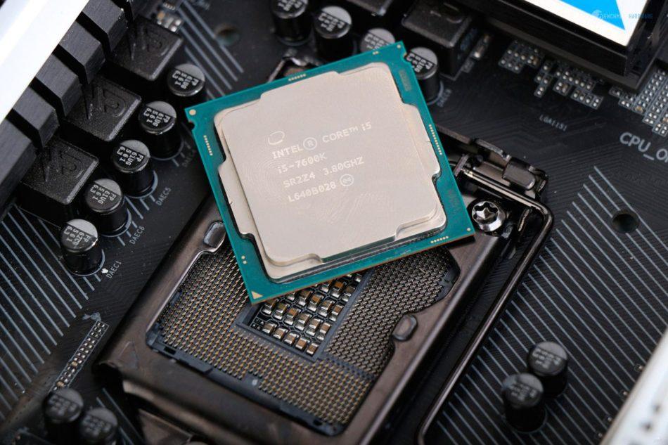 i5-7600k será un 9% más rápido que i5-6600k