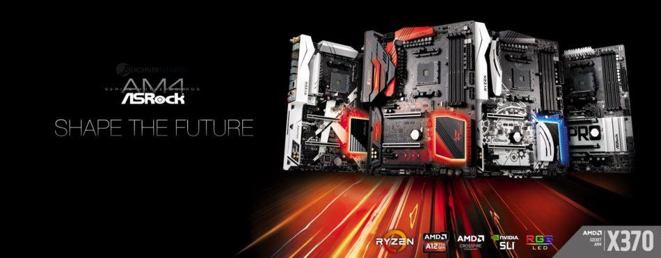 ASRock anuncia sus placas base X370 para AMD Ryzen