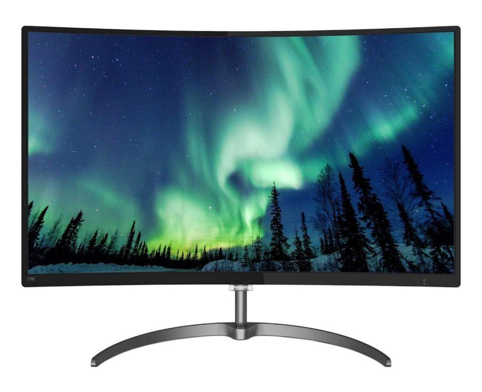 Philips presenta su nuevo monitor curvo con amplia gama de colores