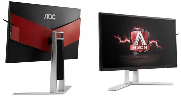 El nuevo monitor AOC AGON con 4K, pantalla IPS y NVIDIA G-SYNC