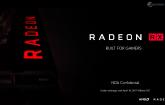 AMD presenta oficialmente Radeon RX 500