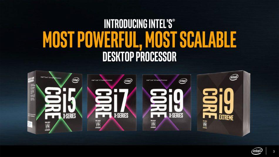 Se filtran los precios y fecha del i9, y la gama Core-X de Intel [OFICIAL]