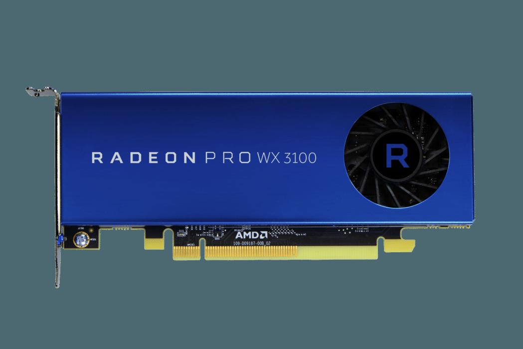 AMD redefine los gráficos de estación de trabajo de nivel de entrada con las nuevas GPUs Radeon Pro WX 3100 y 2100