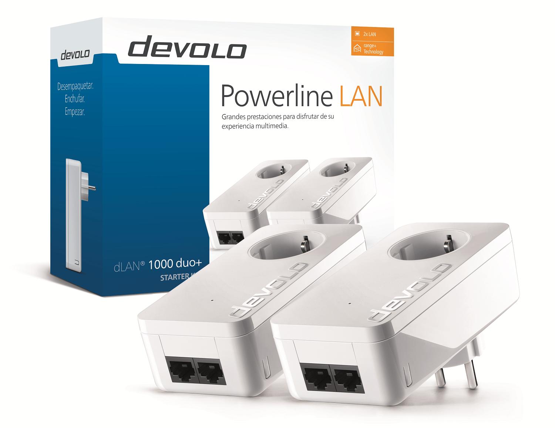 Devolo presenta su nuevo adaptador PLC-Powerline dLAN 1000 duo+