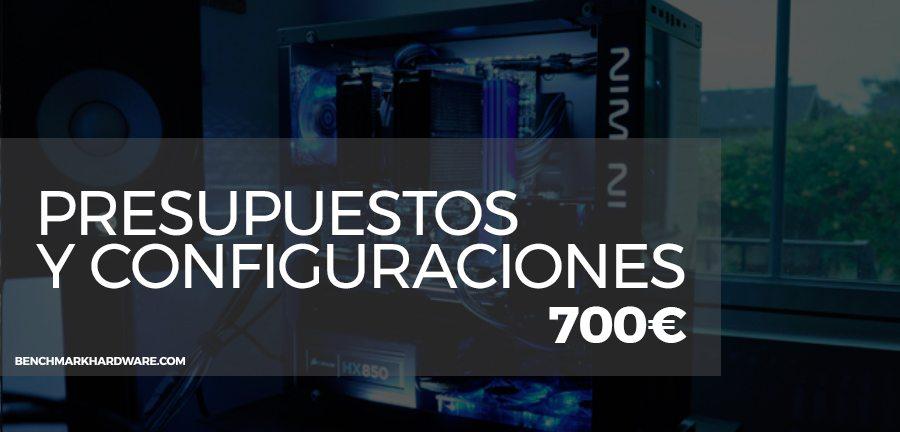 Presupuesto PC Gaming 700€ – Marzo 2018