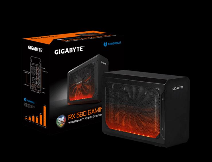 GIGABYTE anuncia la RX 580 Gaming Box