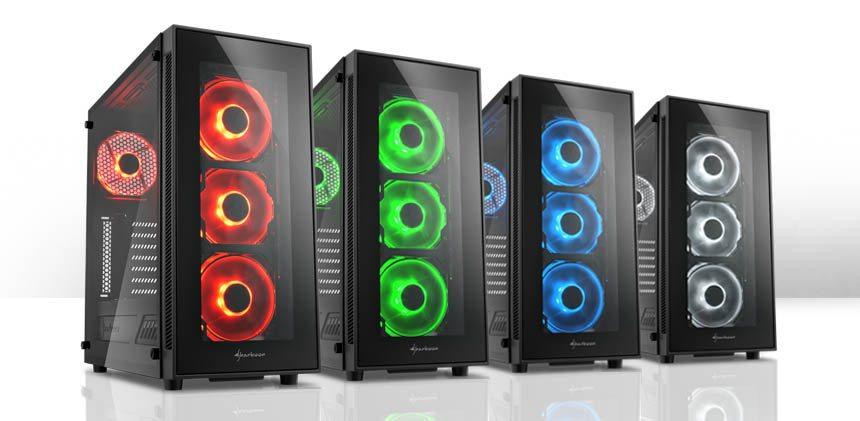 Sharkoon lanza una revisión de su torre TG5, ahora con RGB