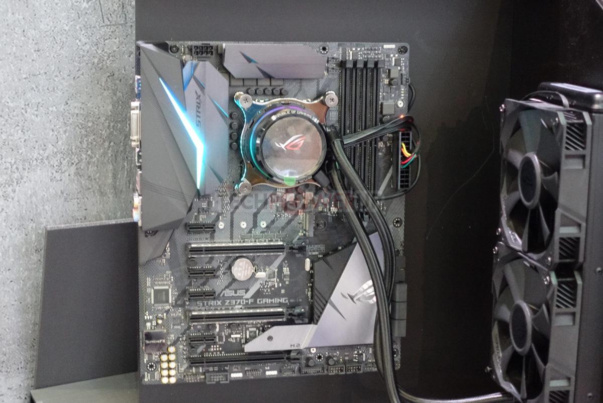 Computex 2018 – ASUS ROG presenta sus nuevas refrigeraciones liquidas