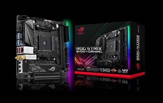 ASUS muestra su nueva ROG Strix B450–I Gaming