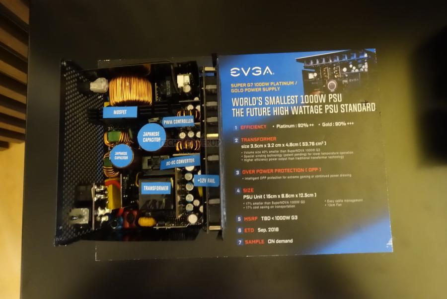 Computex 2018 – EVGA muestra sus nuevas PSUs
