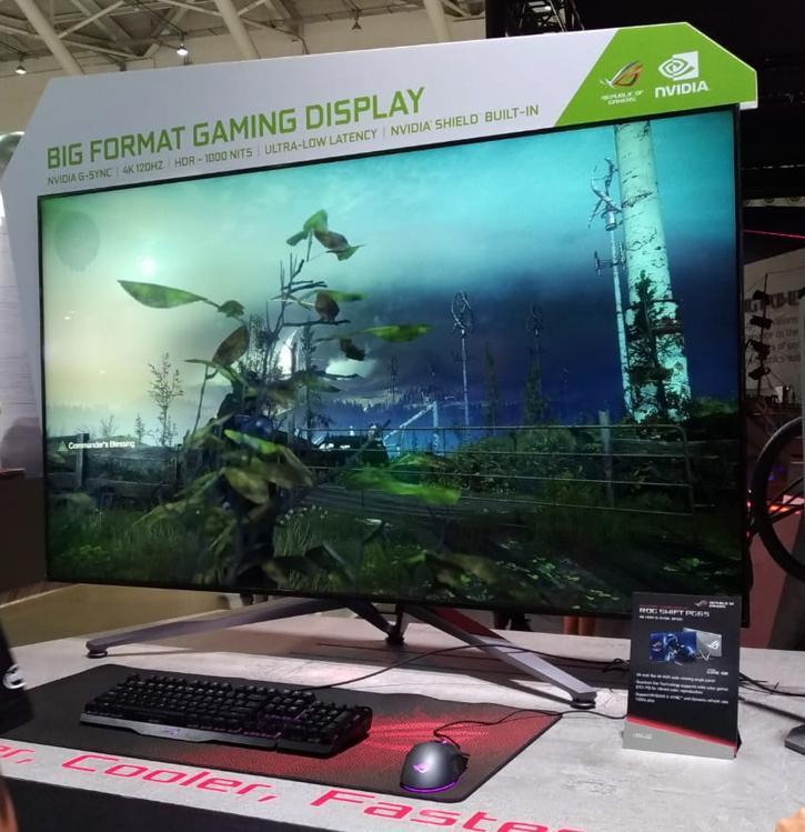 Computex 2018 – NVIDIA muestra sus paneles Big Format Gaming