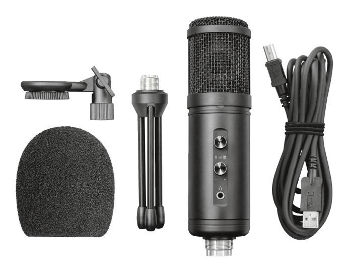 Trust presenta los microfonos Signa HD y Lava USB