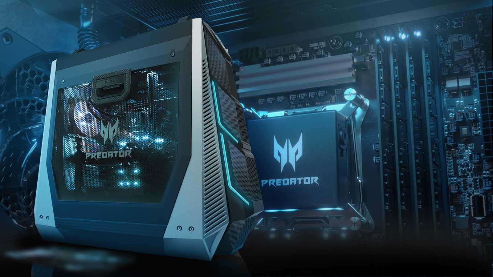 Acer incluye las GPUs NVIDIA GeForce RTX en sus ordenadores Predator Orion
