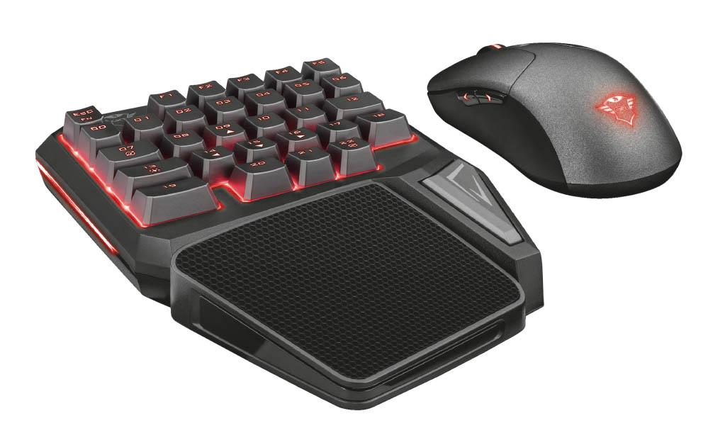 Trust Gaming presenta el teclado para una sola mano GXT 888 Assa