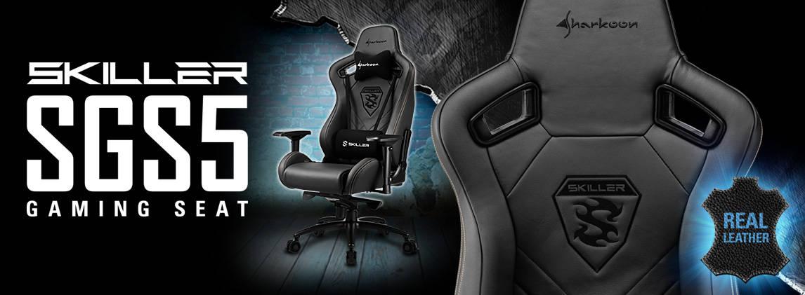 Sharkoon presenta su nueva silla gaming Skiller SGS5