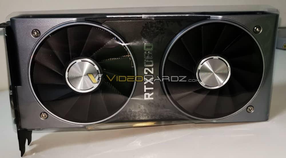 Primeras imagenes y fecha de lanzamiento de la NVIDIA RTX 2060