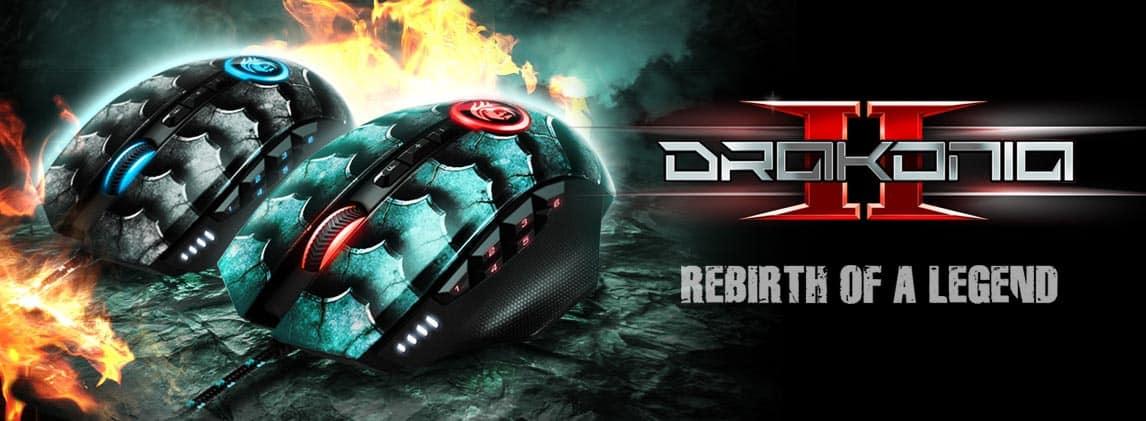 Sharkoon presenta su nuevo raton Sharkoon Drakonia II