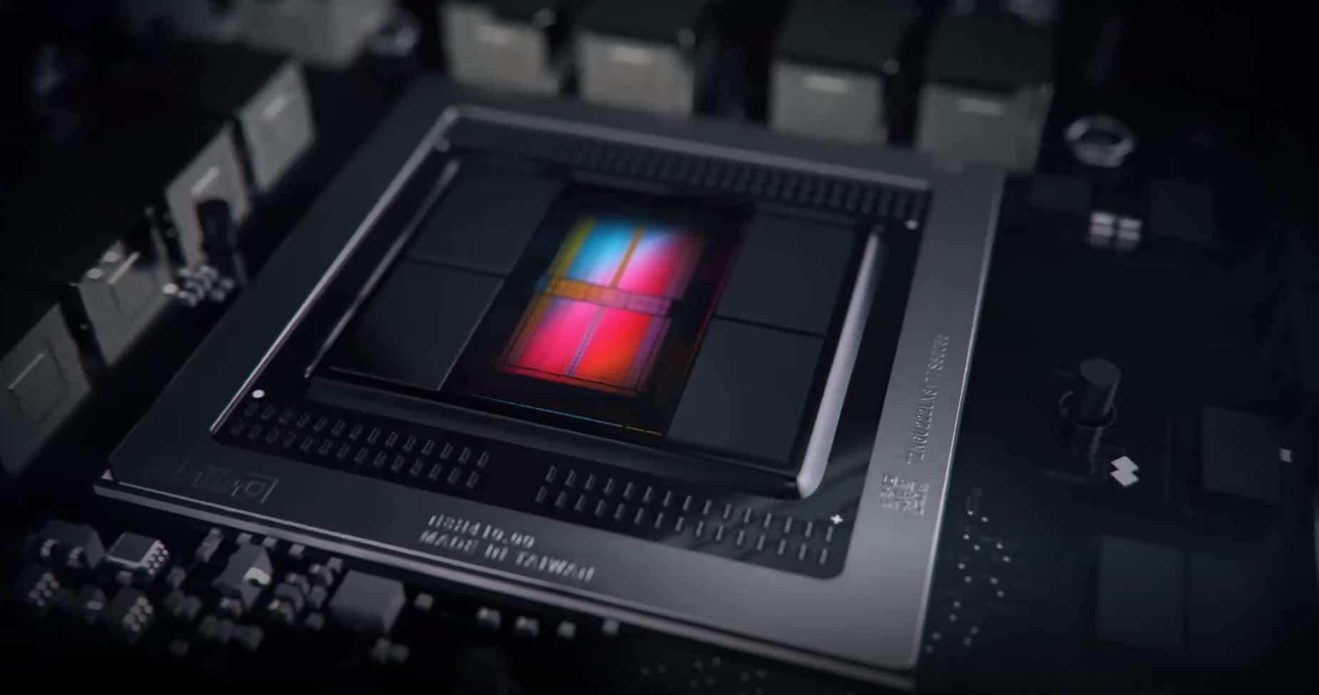 Cuatro GPUs AMD Radeon Navi listadas en una update de MacOS
