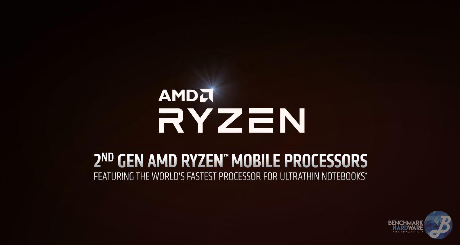 CES 2019 – AMD anuncia sus procesadores Ryzen 3000 Mobile
