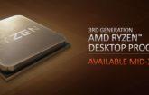 Se filtra un AMD Ryzen 3000 de 12 núcleos y 24 hilos