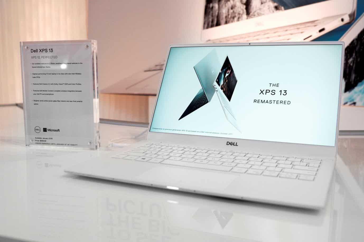 CES 2019 – Dell anuncia su nuevo XPS 13 y portátiles 2-en-1