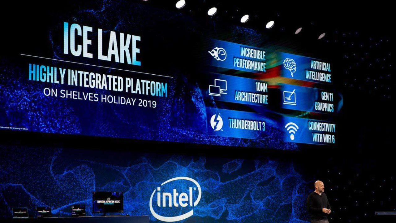 Intel anuncia el lanzamiento de sus procesadores Ice Lake