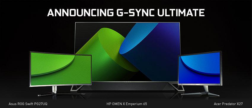CES 2019 – NVIDIA anuncia G-Sync Compatible y G-Sync Ultimate