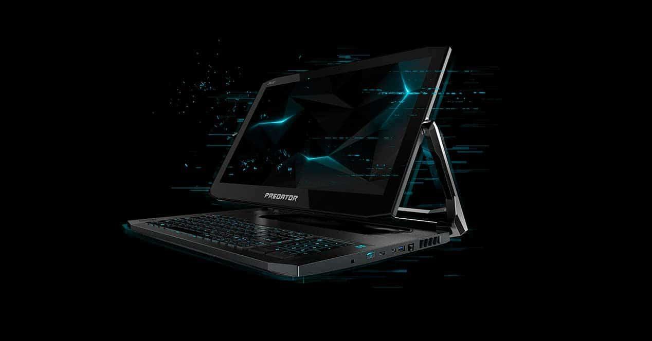 CES 2019 – Acer presenta su portátil gaming convertible, el Predator Triton 900