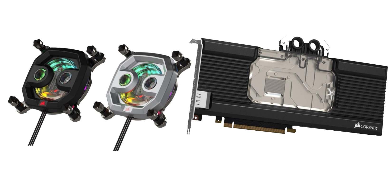Se filtra la gama de productos Corsair Hydro X
