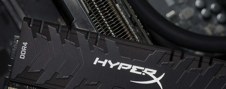 Kingston lanza las Kingston HyperX Predator DDR4 a 4600 MHz