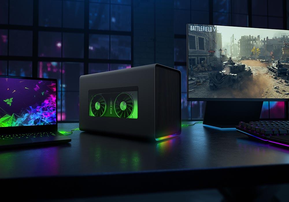 Razer presenta su nueva eGPU, la Razer Core X Chroma