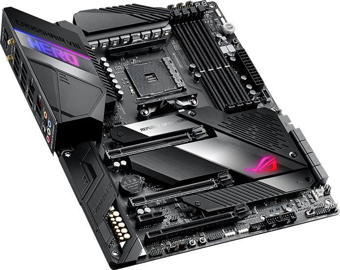 Computex 2019 – Asus anuncia sus placas ASUS ROG Crosshair VIII Hero y Hero WiFi