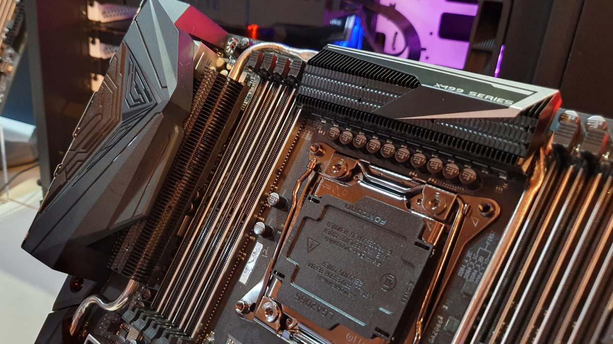 Computex 2019 – Gigabyte desvela su placa Gigabyte X299G Aorus Designare-10G