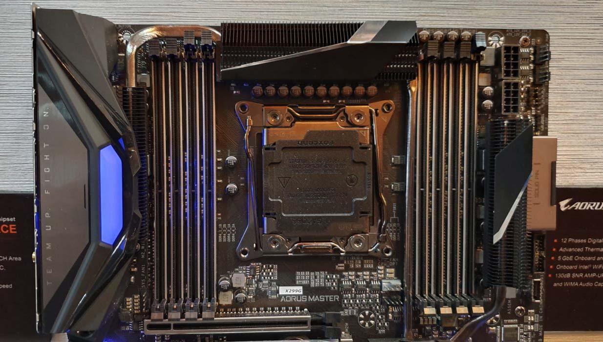 Computex 2019 – Gigabyte enseña su placa Gigabyte X299G Aorus Master