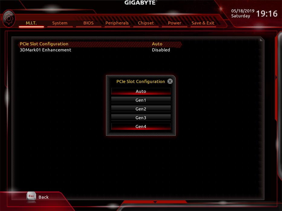 BIOS F40 en X470 Aorus Gaming 7
