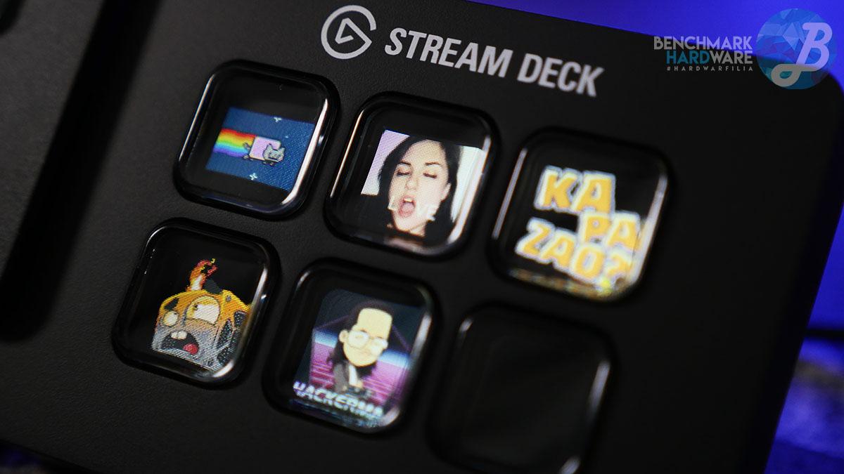 Botones LCD