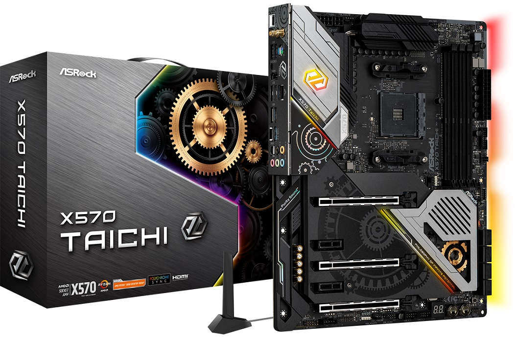 Computex 2019 – Asrock presenta su nueva placa Asrock X570 Taichi