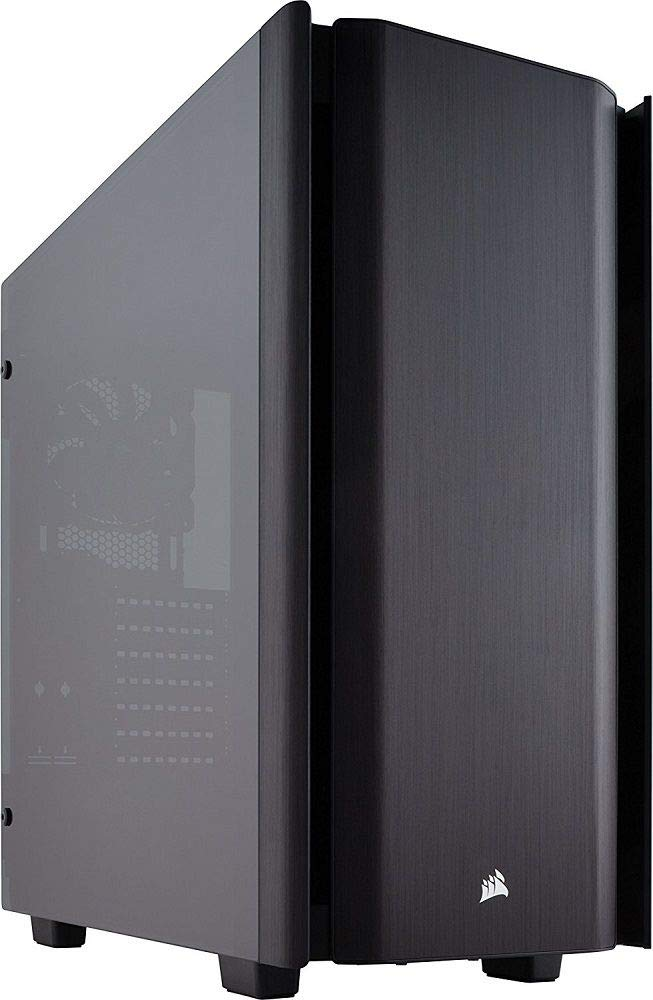 Corsair Obsidian 500D - Caja de Ordenador con Ventana de Cristal Templado y Aluminio
