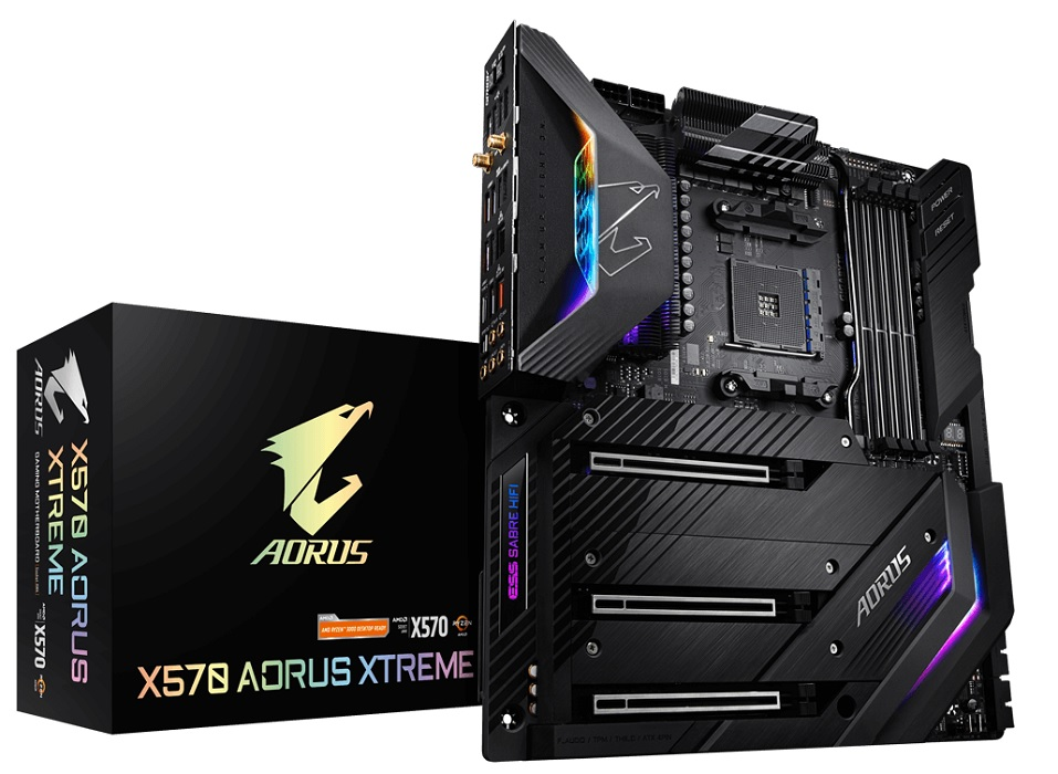 Computex 2019 – Gigabyte anuncia su nueva placa Gigabyte X570 AORUS XTREME