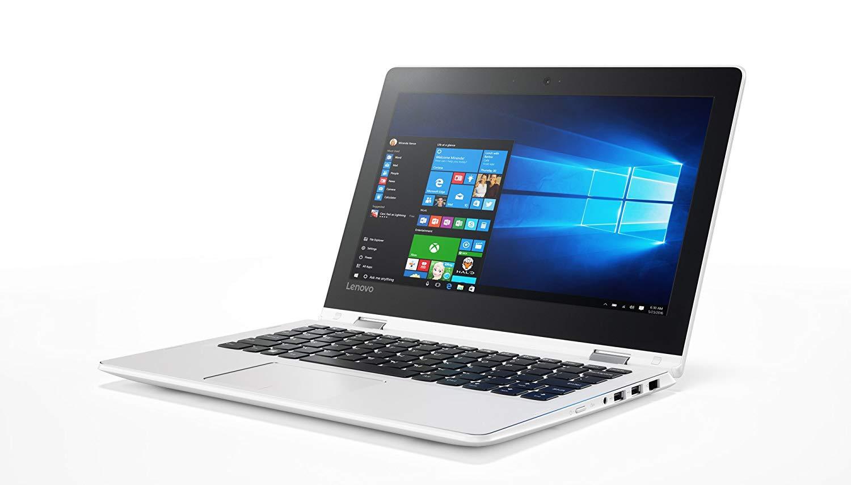 """Lenovo Yoga 310-11IAP - Ordenador portátil convertible 11.6"""" HD (Intel Celeron N3350, 2 GB RAM, 32GB de almacenamiento, Intel HD 500, Windows 10 Home) blanco - Teclado QWERTY Español"""