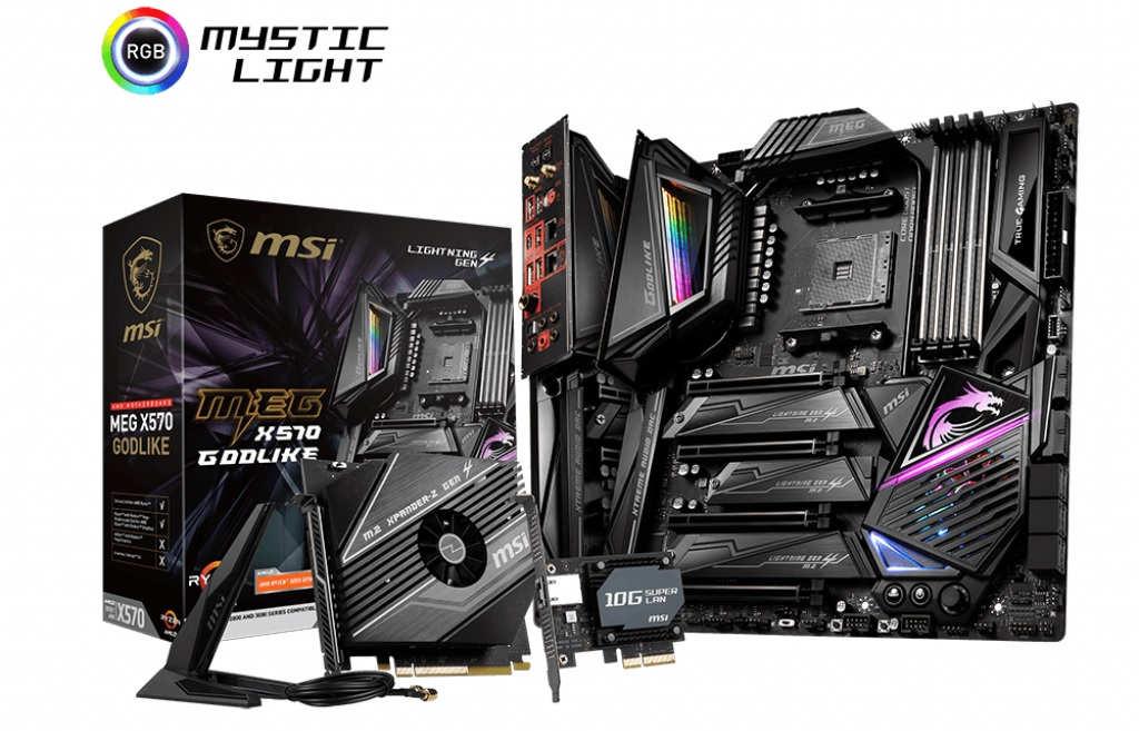 Computex 2019 – MSI anuncia su MSI MEG X570 GODLIKE