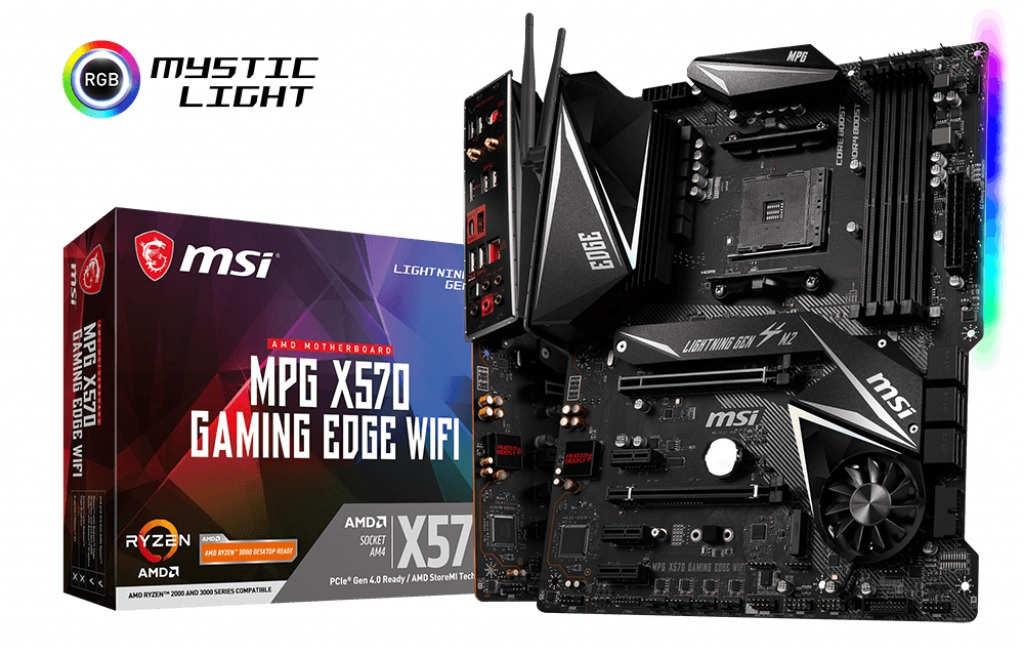 Computex 2019 – MSI anuncia su placa MSI MPG X570 GAMING EDGE