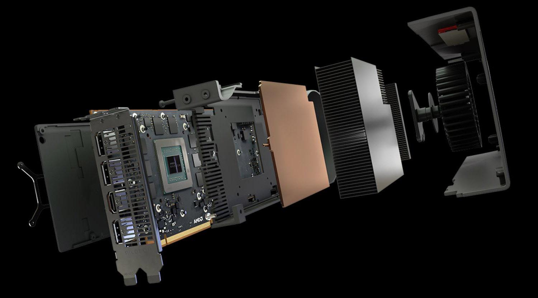 AMD RX 5700 XT - Refrigeración